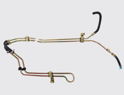 Tubos para sistemas de direção hidráulica (metal + borracha)